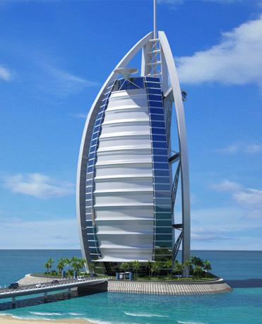 History of burj al arab and