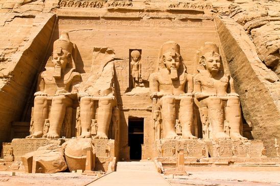 egypt, abu simbel rock temples
